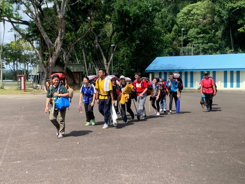 students setting off for a hike.jpg