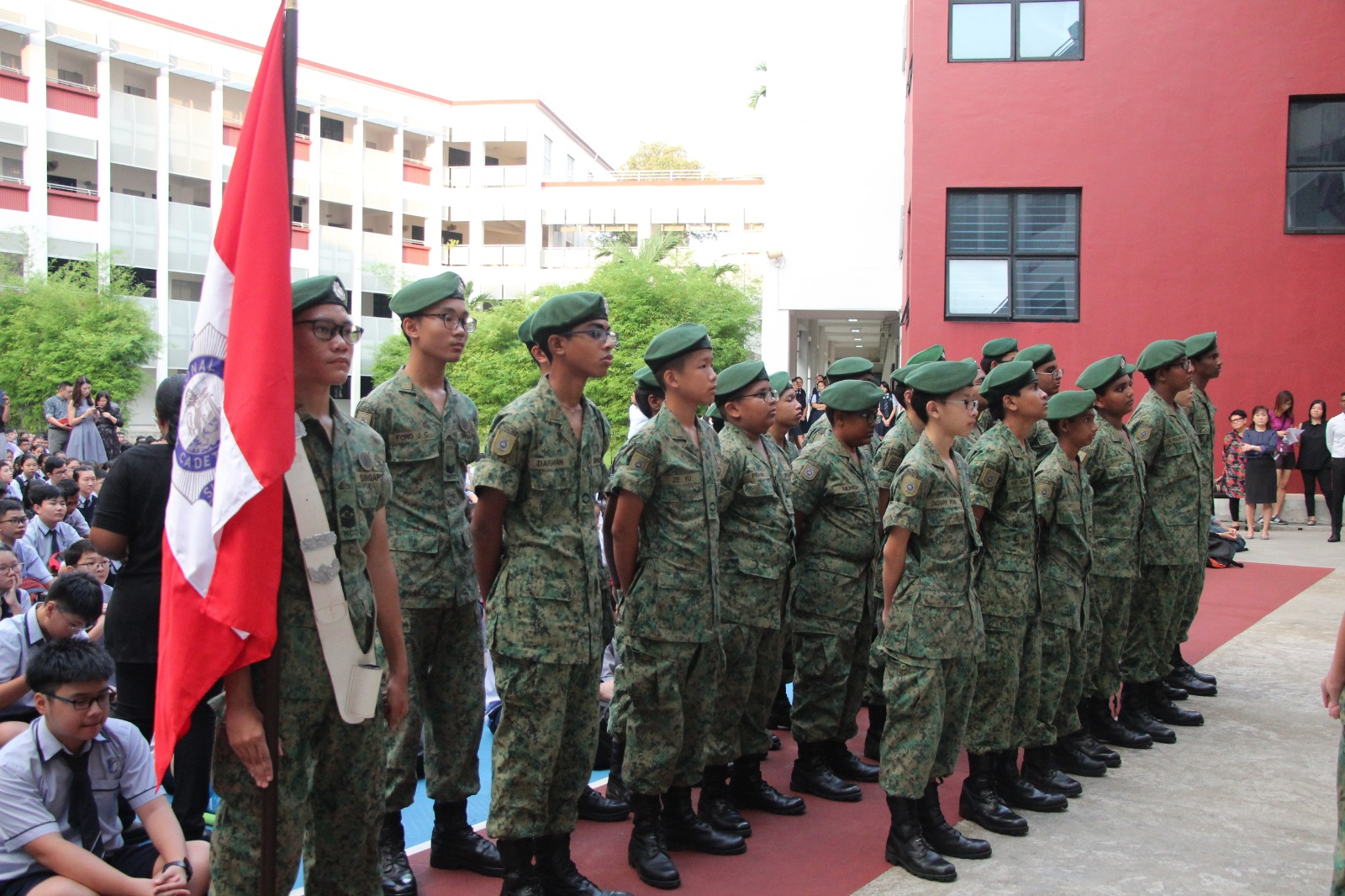Our cadets in parade formation on NCC Day 2019.jpg